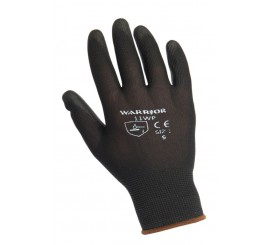 Warrior Black PU Glove - 0111WP