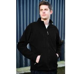 Warrior Baltimore Fleece Jacket - Black - 0118BFC