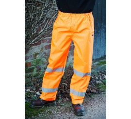 Warrior Hi Vis Seattle Trousers Orange - 0118FAGTRO