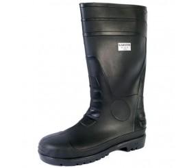 Warrior Safety Wellington Boot Black - 0118FWS