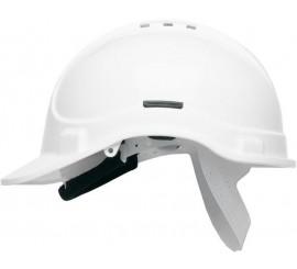 HC300VEL Vented White Helmet - 0118HC300VEL