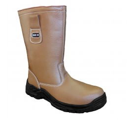 Warrior Tan Wool Lined Rigger Boot - 0118MMB7