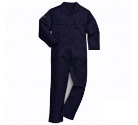 Warrior Navy Flame Resistant Boilersuit - 0118PC