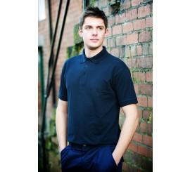 Warrior Navy Polo Shirt - discon