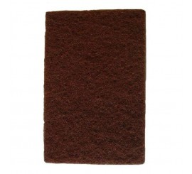 "9"" x 6"" Brown Scotchbrite Pads - 0122H20B"