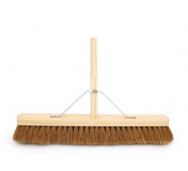 "Coco Broom With Stale 24"" - 012338"