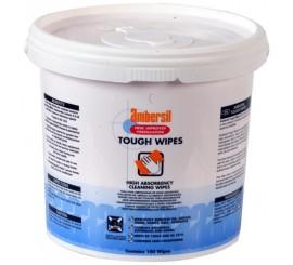 X 100 Ambersil Tough Wipes - 0125ATW