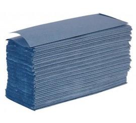 Blue Z Fold Hand Towels - 0126PZF