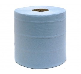 Blue Centrefeed 2 Ply Rolls (Pack of 6) - 013152