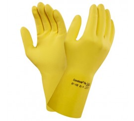 Ansell 87-190 Yellow Econohands Glove - 0187-190