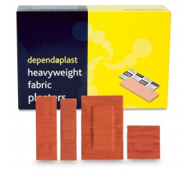 Assorted Fabric Plasters (Pack of 100) - 01FP