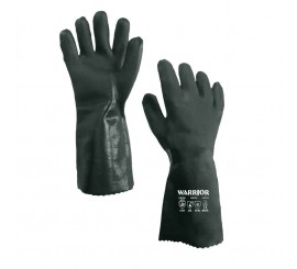 Warrior Green D/Dipped Gloves (Pack of 6) - 01PK11GDDA