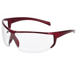 Univet 5x4 Red Frame Pc Clear As-Af - 015X4034000