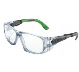 Univet 5x9 Smoke/Green Frame With Pc - 015X9030000