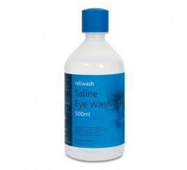1405/IP X500ml Round Eye Wash Bottles - 01FESR