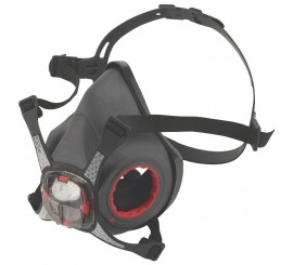 JSP Force 8 Half Mask Without Filters - 0116MM