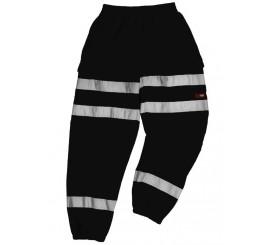 Warrior Georgia Black Hi-Vis Stripe Jogger - 0118GEORGIAB