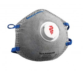 Warrior Respirator FFP2OV Masks (Pack of 10) - 0116MMR2OV