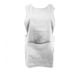 Warrior Tabard With Pocket White - 01NWTA21WH