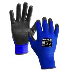 Black Nitrile Open Back Glove - 0111OBBLN