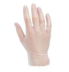 Clear Vinyl Gloves (Pack Of 100) - 0117G