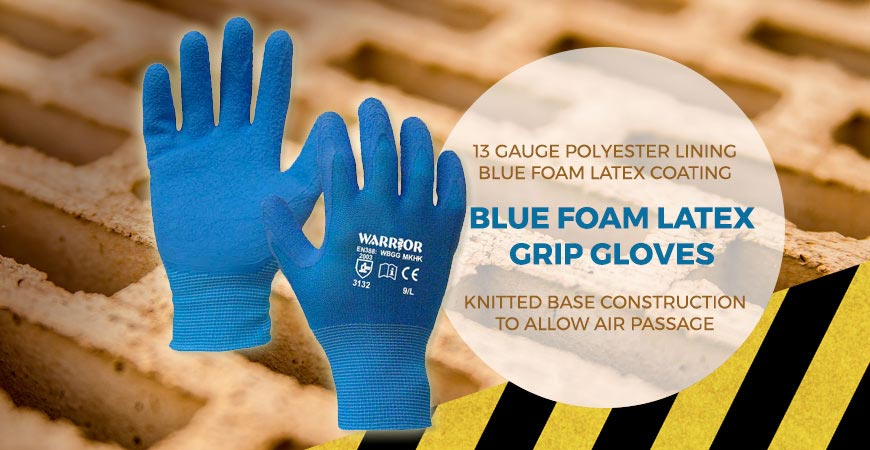 Warrior Grip Work Gloves
