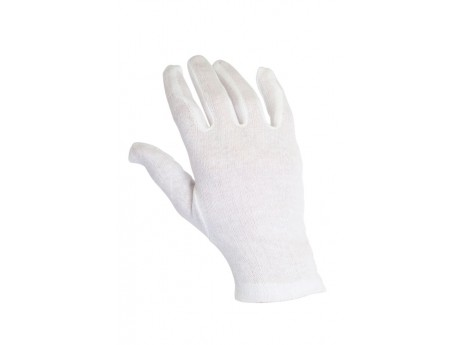 Warrior Large Bleached Cotton Glove - 0111CB1