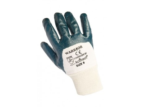 Warrior H/W Nitrile Gloves (Pack of 12) - 01PK11HNOBKW