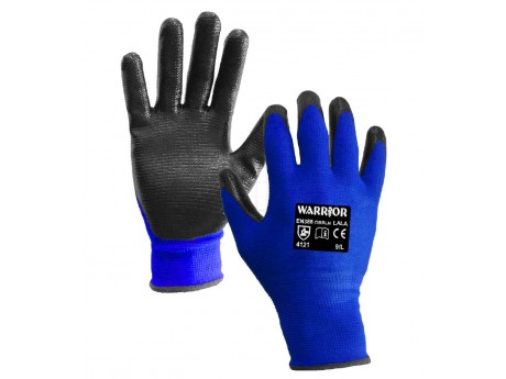 Black Nitrile Open Back Glove - 0111OBBLN