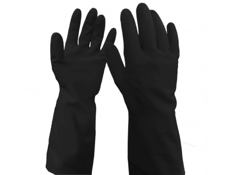 WarriCHEM Black Latex Glove - 0111WBL