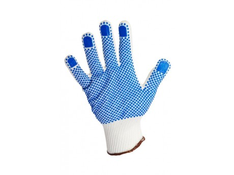 Warrior Dotted Knitted Gloves (Pack of 12) - 01PK11WD