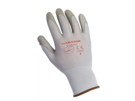 Warrior Grey PU Glove - 0111WPG