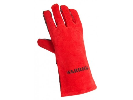 Warrior Supa Red Leather Gloves (Pack of 6) - 01PK11WRSC