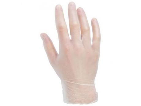 Warrior Clear Vinyl Gloves Powder Free (Medical Grade) - 0117MGPFV