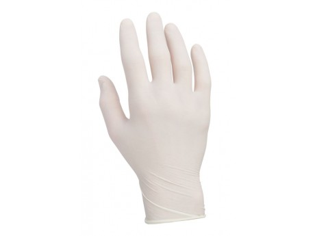 Warrior Clear Powderfree Latex Gloves (Box of 100) - 0117PFL