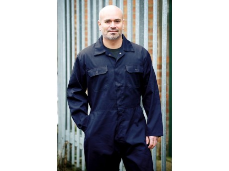 Warrior Navy Boilersuit - Standard - 0118B2