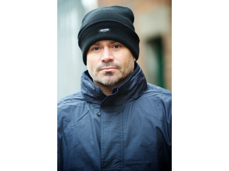 Black Thermal Lined Hat - 0118FC
