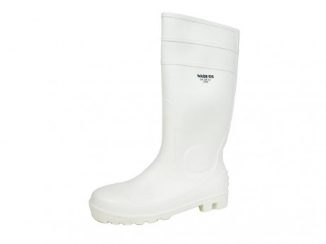 Warrior Safety Wellington Boot White - 0118FWSW