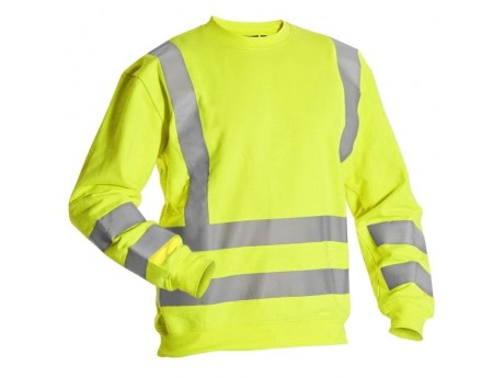 Miami Hi-Vis Sweatshirt - Yellow - 0118MIAMIY