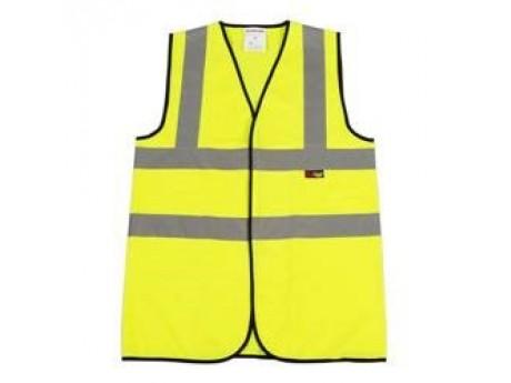 Warrior Yellow Hi-Vis Waistcoat