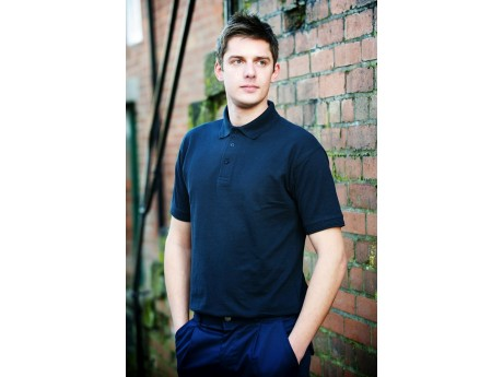 Warrior Navy Polo Shirt - discon