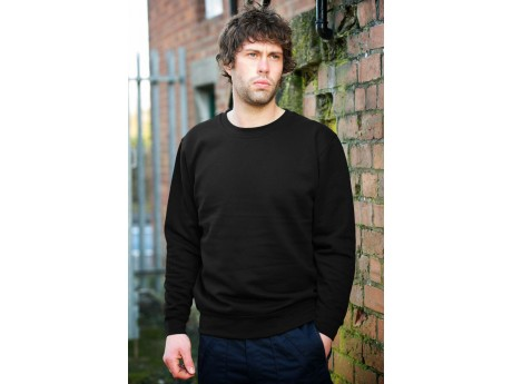Warrior Classic Black Sweatshirt - 0118SSB