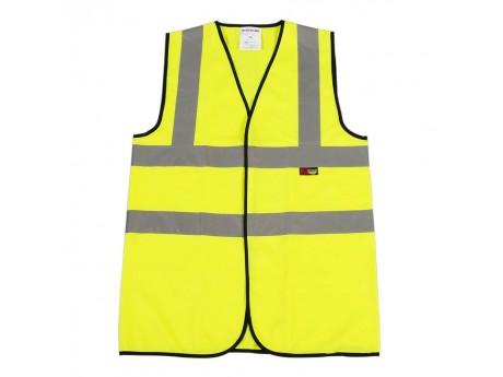 Warrior Hi Vis Waistcoat - Yellow - 0118WBFAG