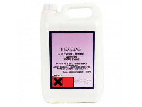 Thick Bleach 5 Litre - 0122TB