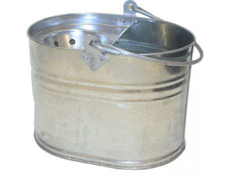 Galvanised Mop Bucket - 0124D4