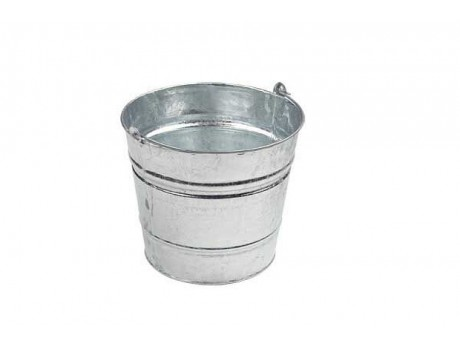 Galvanised Bucket - 0124D6