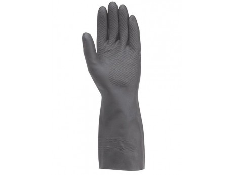 Ansell 87-950 Extra Black Latex Glove - 0187-950