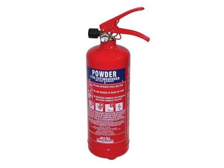 Jewel Saffire 1KG Powder Extinguisher - 01FIRE1KG