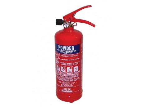 Jewel Saffire 2KG Powder Extinguisher - 01FIRE2KG