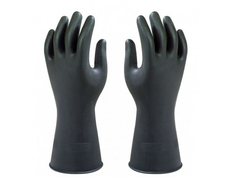 Marigold Black Heavyweight Glove - 01G17K